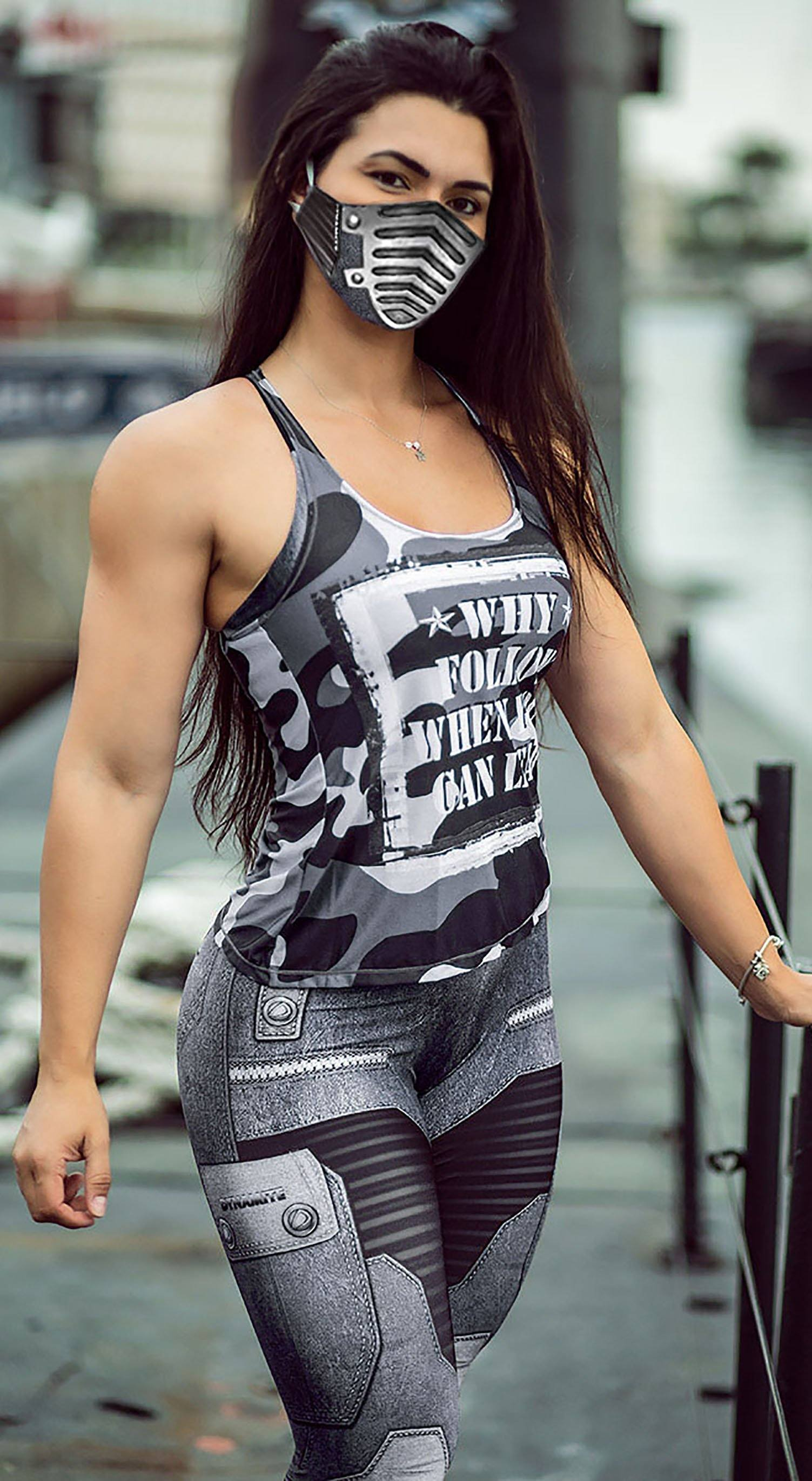 Brazilian Tank Top - The Guardian Rokies Grey