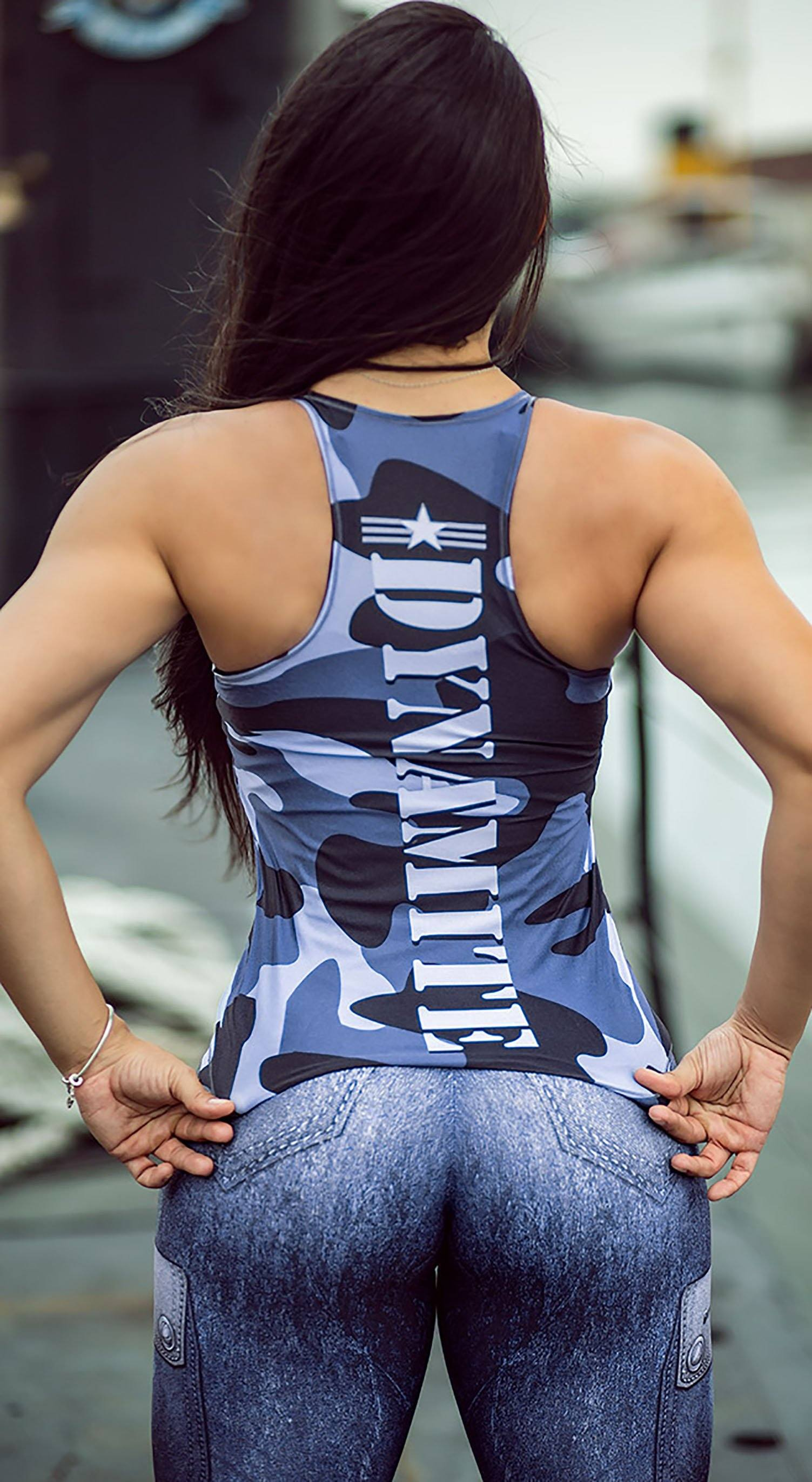 Brazilian Tank Top - The Guardian Ice Blue