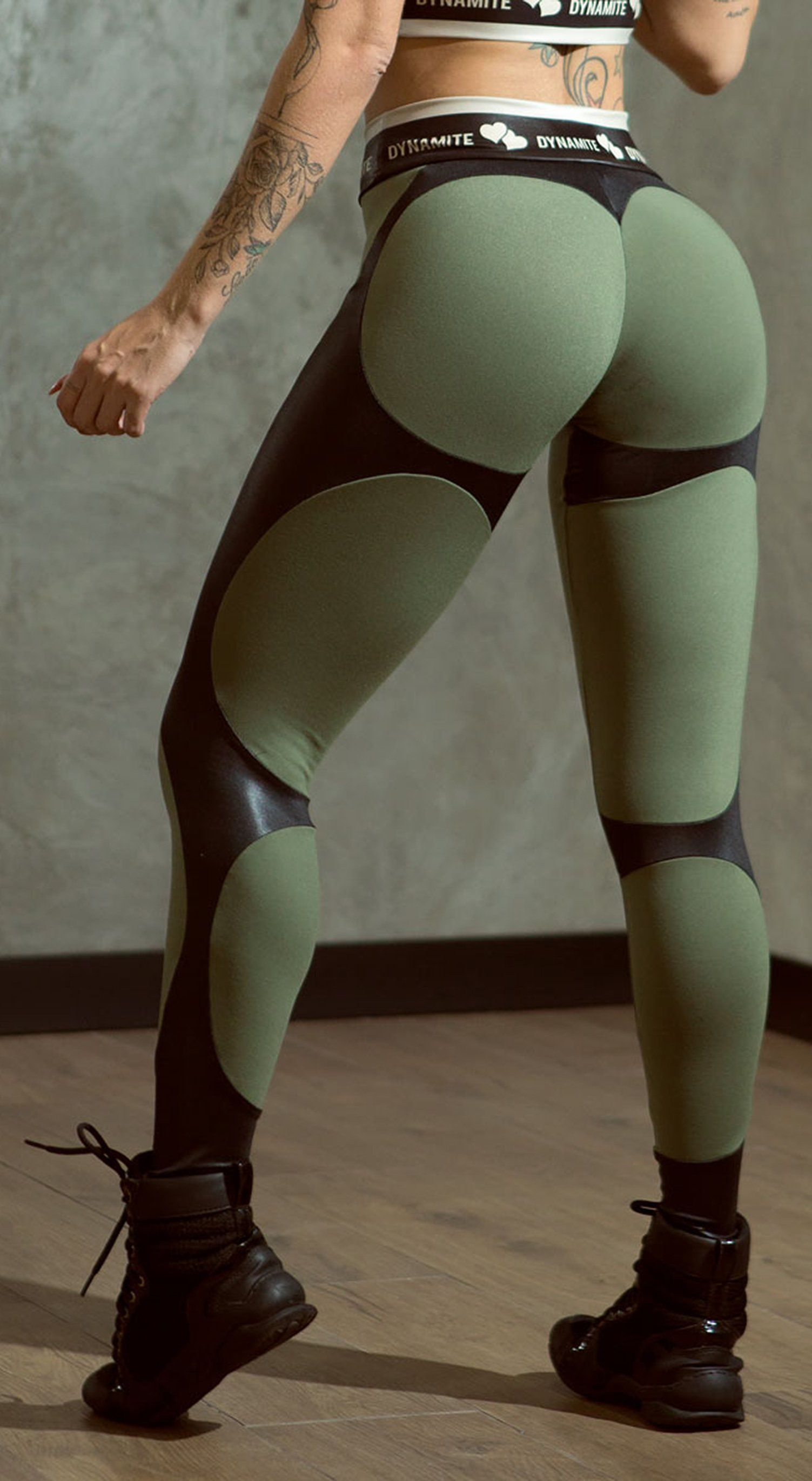 Brazilian Workout Legging - Apple Booty Storm