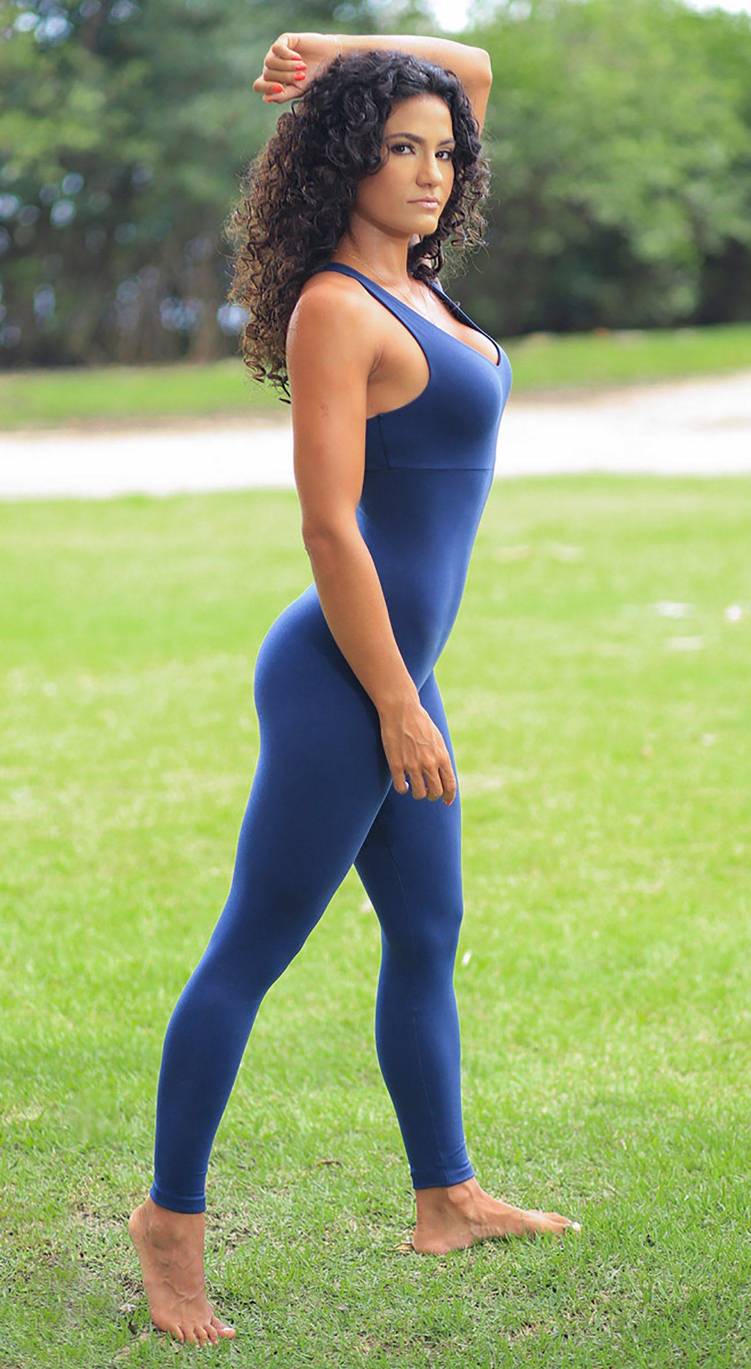 Brazilian Fitness Jumpsuit Wittney Navy