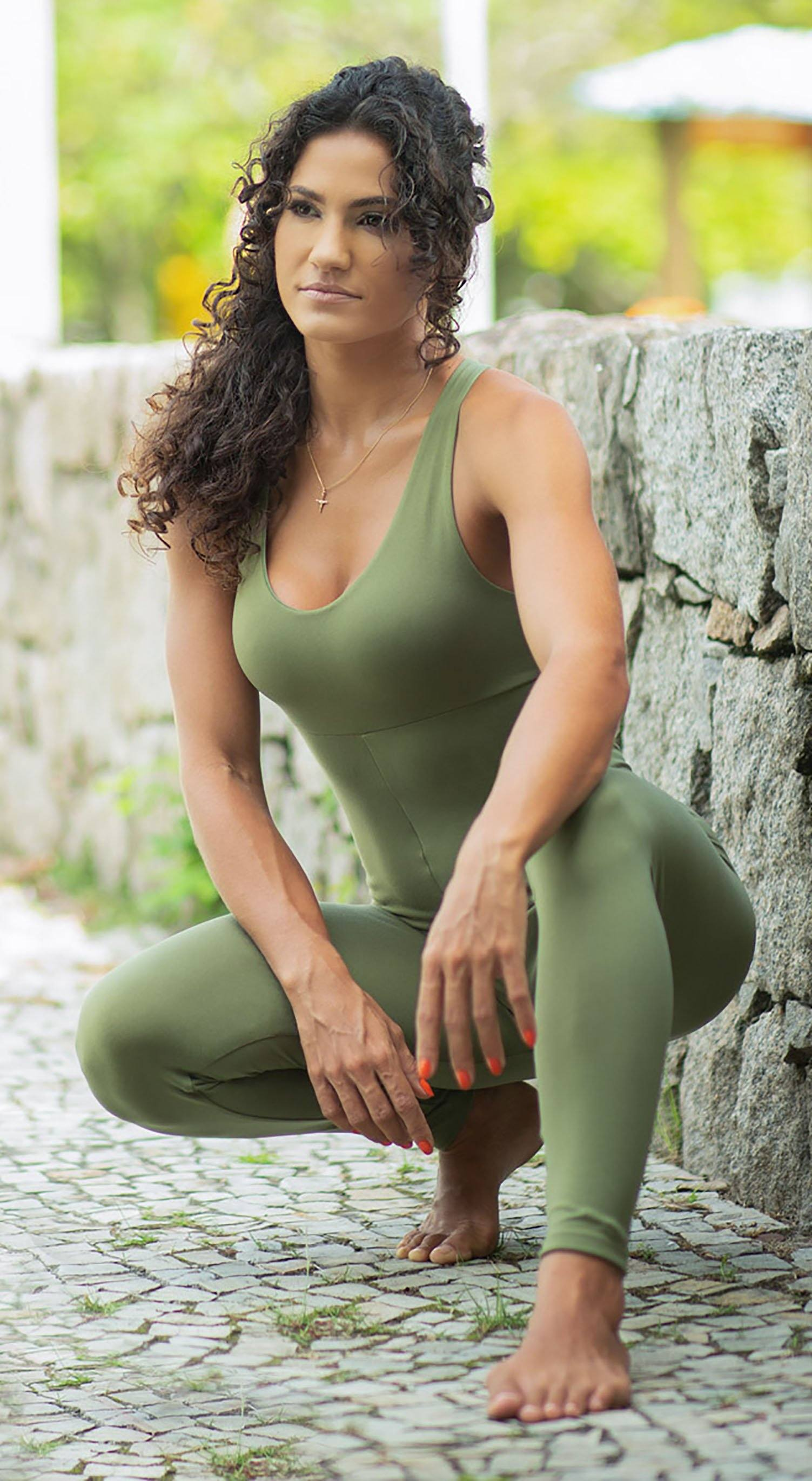 Brazilian Fitness Jumpsuit Wittney Green