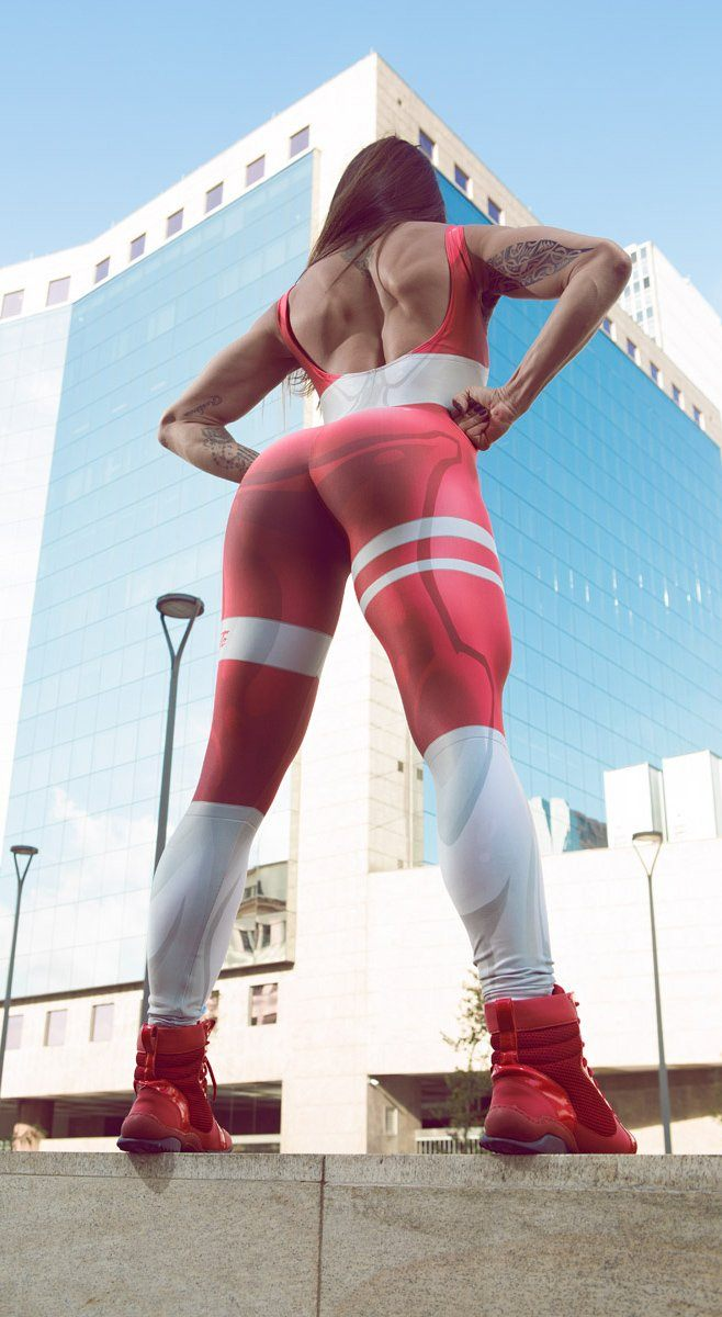 Brazilian Workout Jumpsuit  - Mercury Catsuit Red
