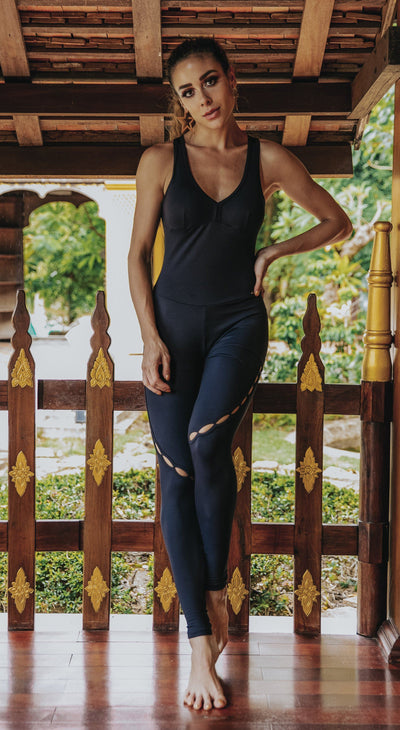 Brazilian Workout Jumpsuit - NZ Intense Black