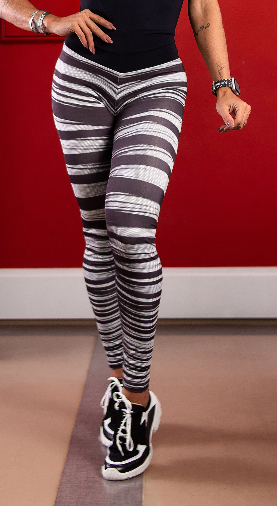 Brazilian Workout Legging - Scrunch Booty Up! 3D Crossline