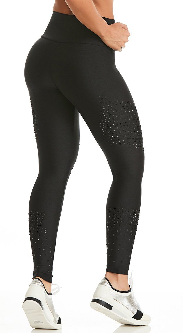 Brazilian Legging - Fitness Glamour Black
