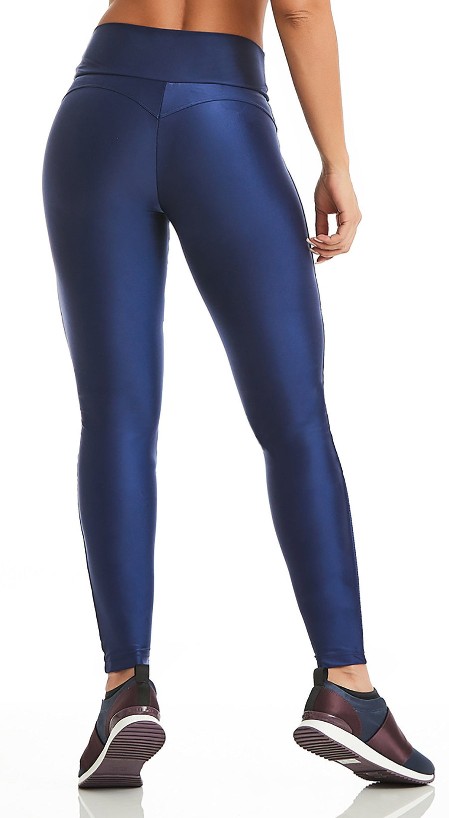 Brazilian Legging - Bum Push Up Navy