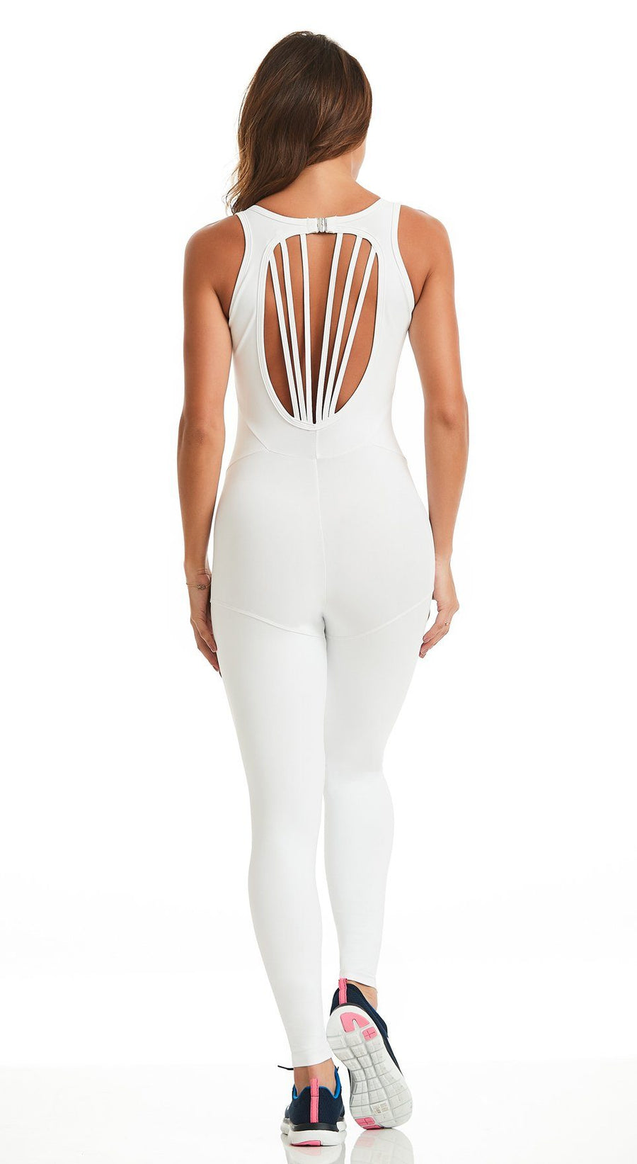 Brazilian Workout Jumpsuit - Intense White