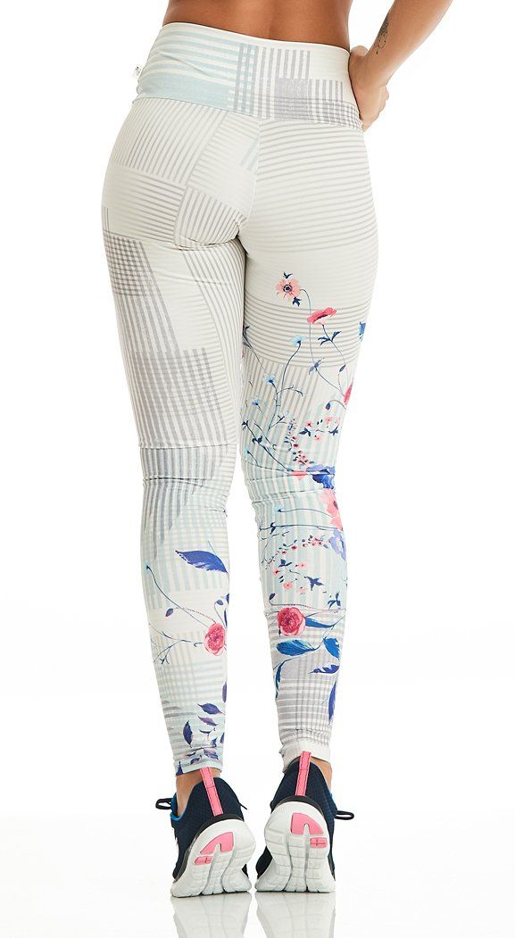 Active Legging -  Ultra Deluxe Summer Bloom Print