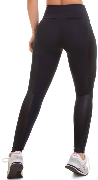 Brazilian Workout Legging - NZ Wish Black