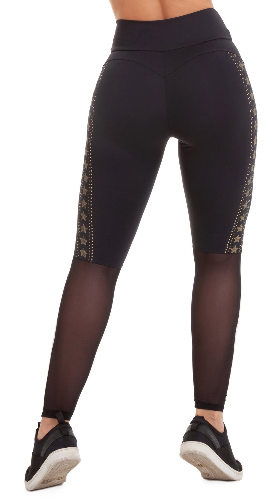 Brazilian Workout Legging - NZ Energetic Black