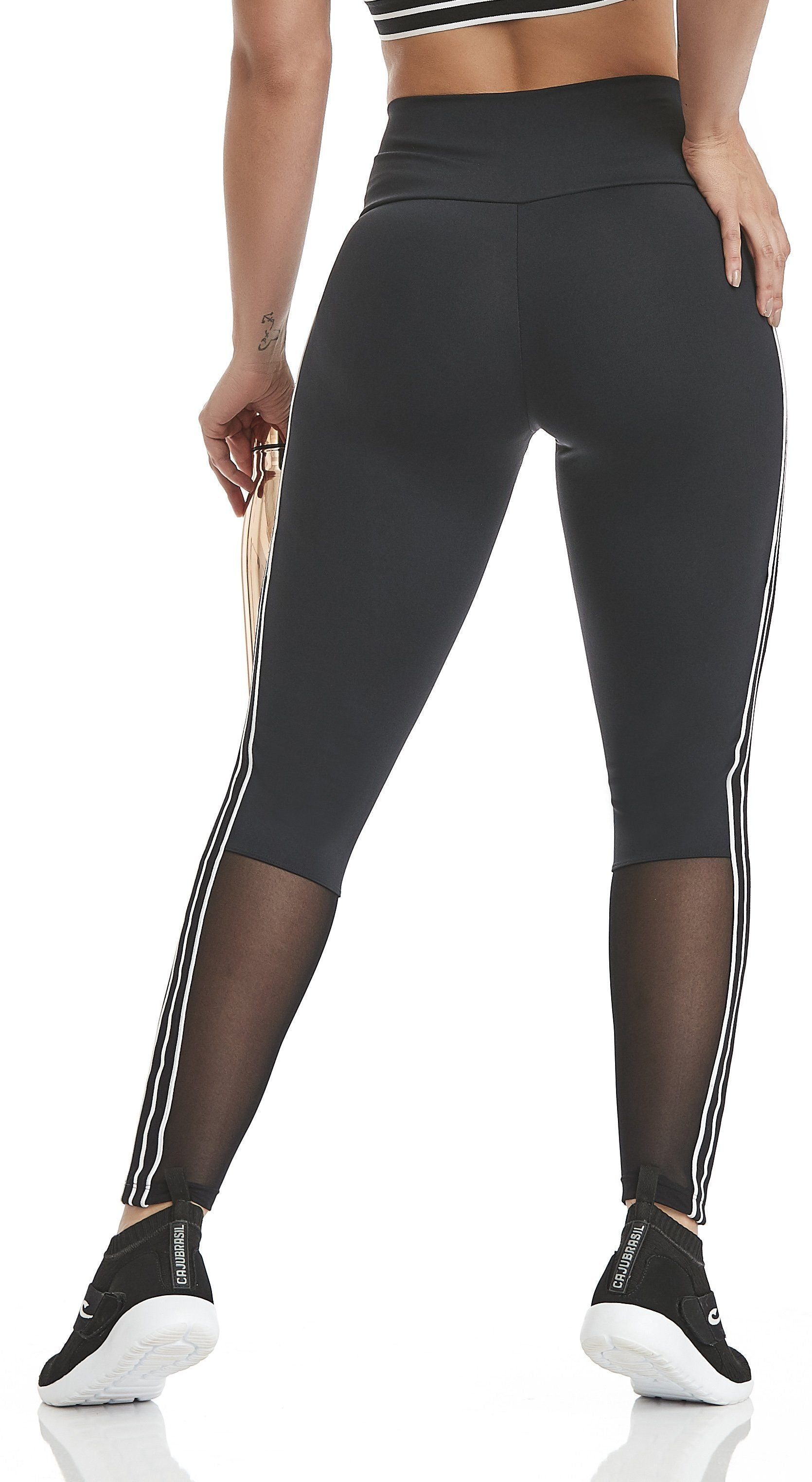 Brazilian Workout Legging -  NZ Allow Black