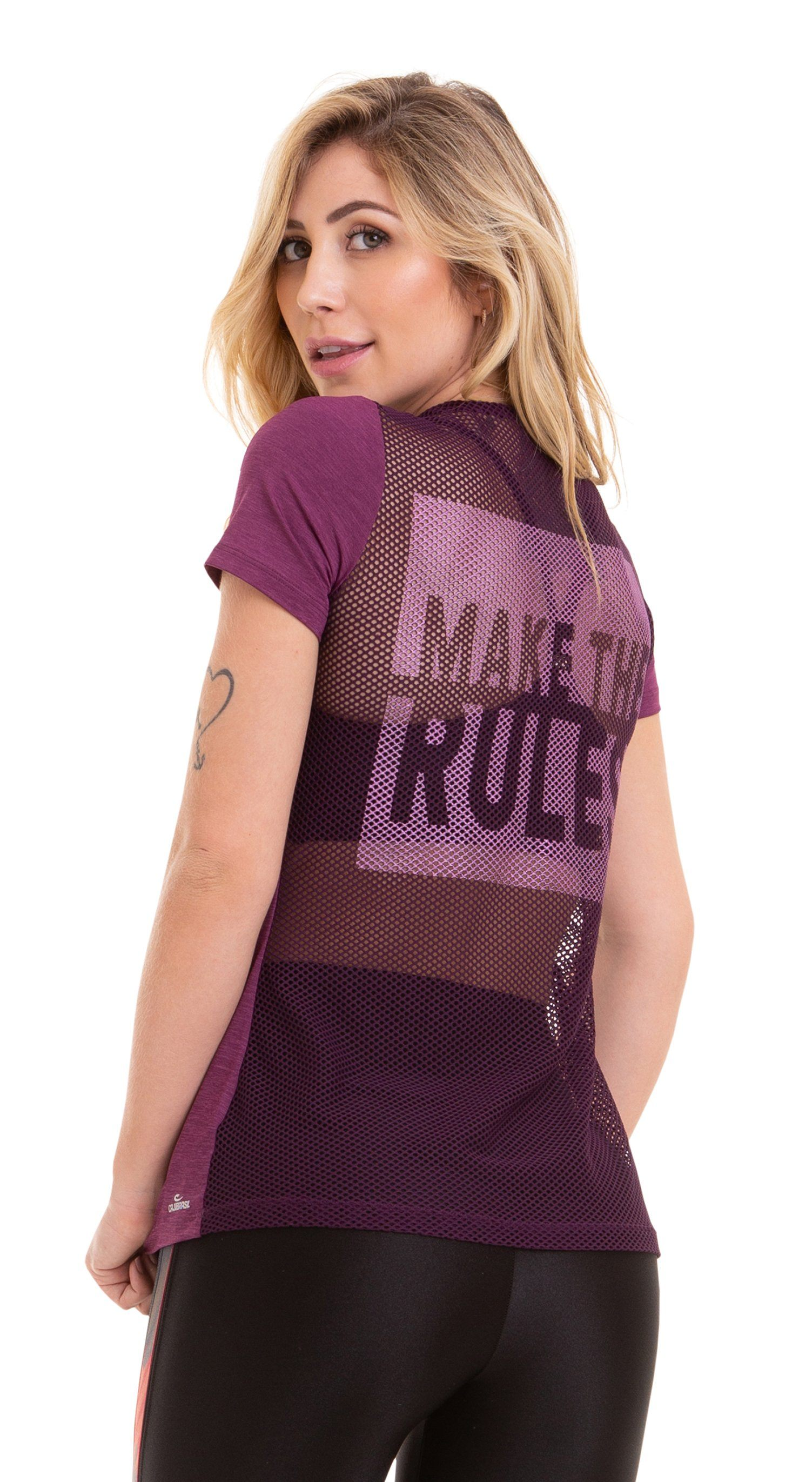 T-Shirt Rules Purple