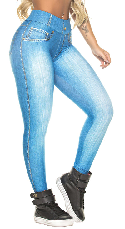 Brazilian Legging - Fake Jeans Essential Legging
