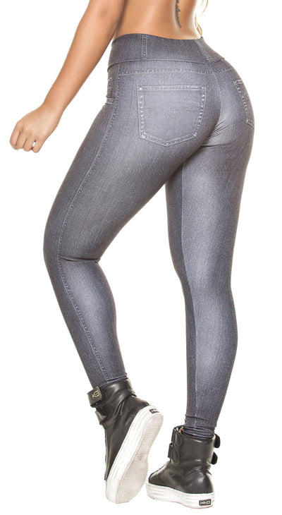 Brazilian Legging - Fake Jeans Legging The Original Black