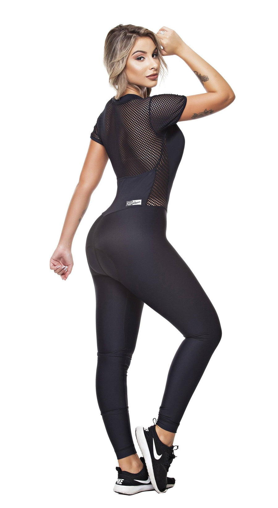 Cycling Jumpsuit - Triathlon Mesh Black