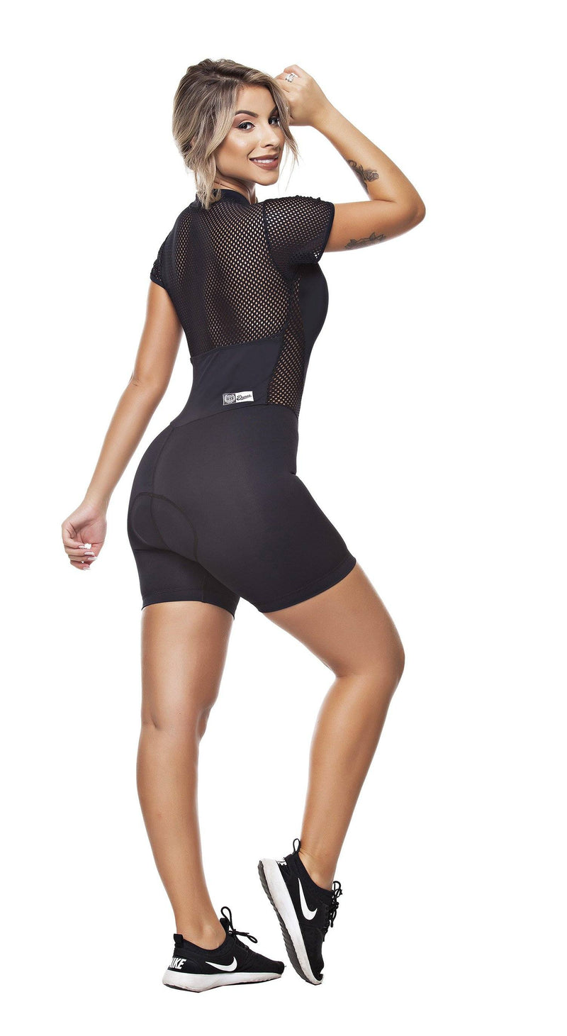 Cycling Jumpsuit - Triathlon Tri Suit Extreme Black