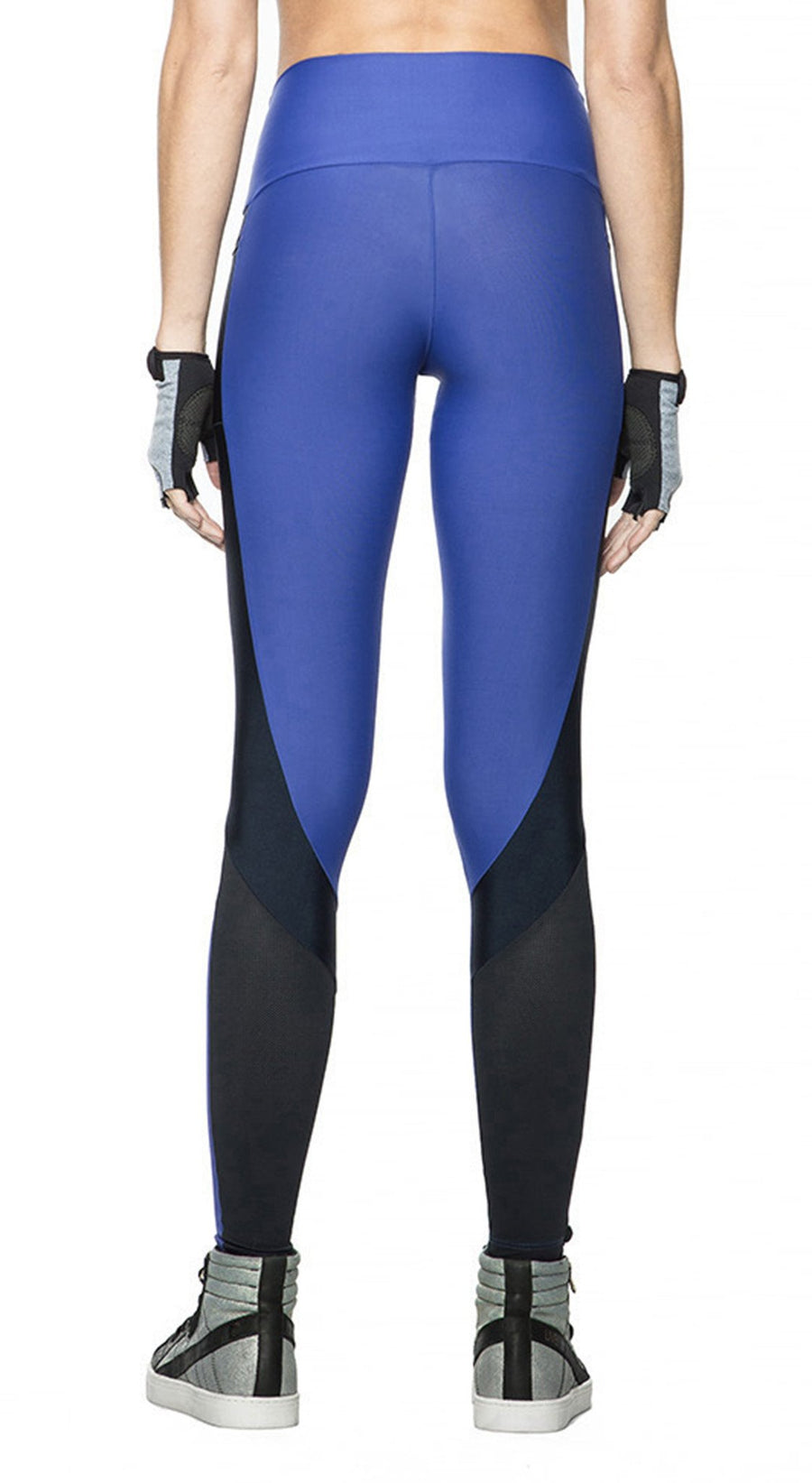 Yoga Pants - Super Style Leggings Royal Blue