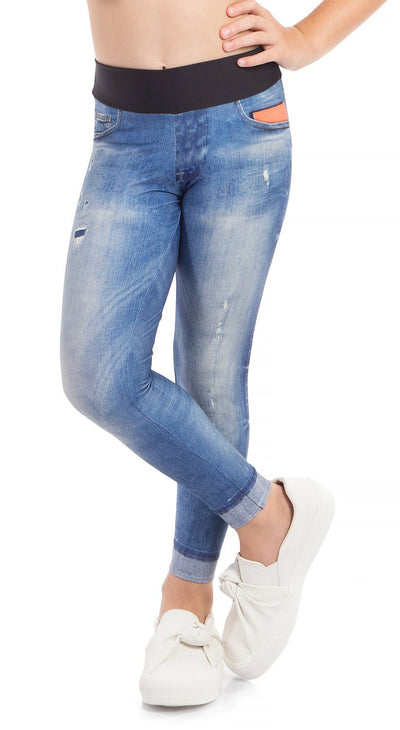 Brazilian Jegging - Favorite Jeans Tight Blue KIDS
