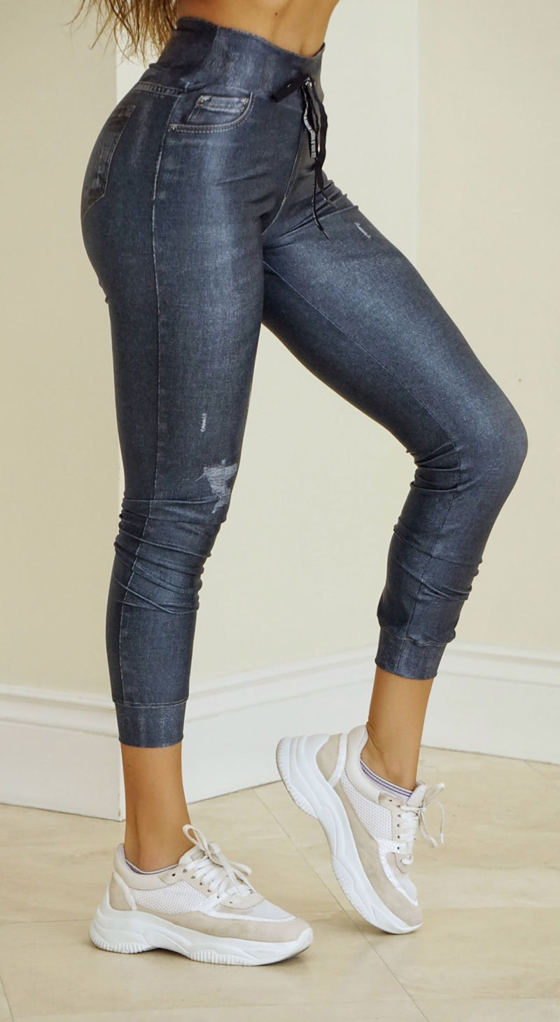 Brazilian Fake Jeans - Denim Jogger IV