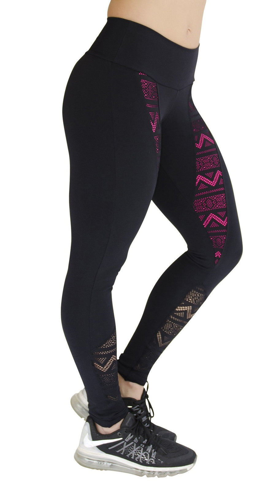 Workout Legging - Fitness Su Active Black or Orange