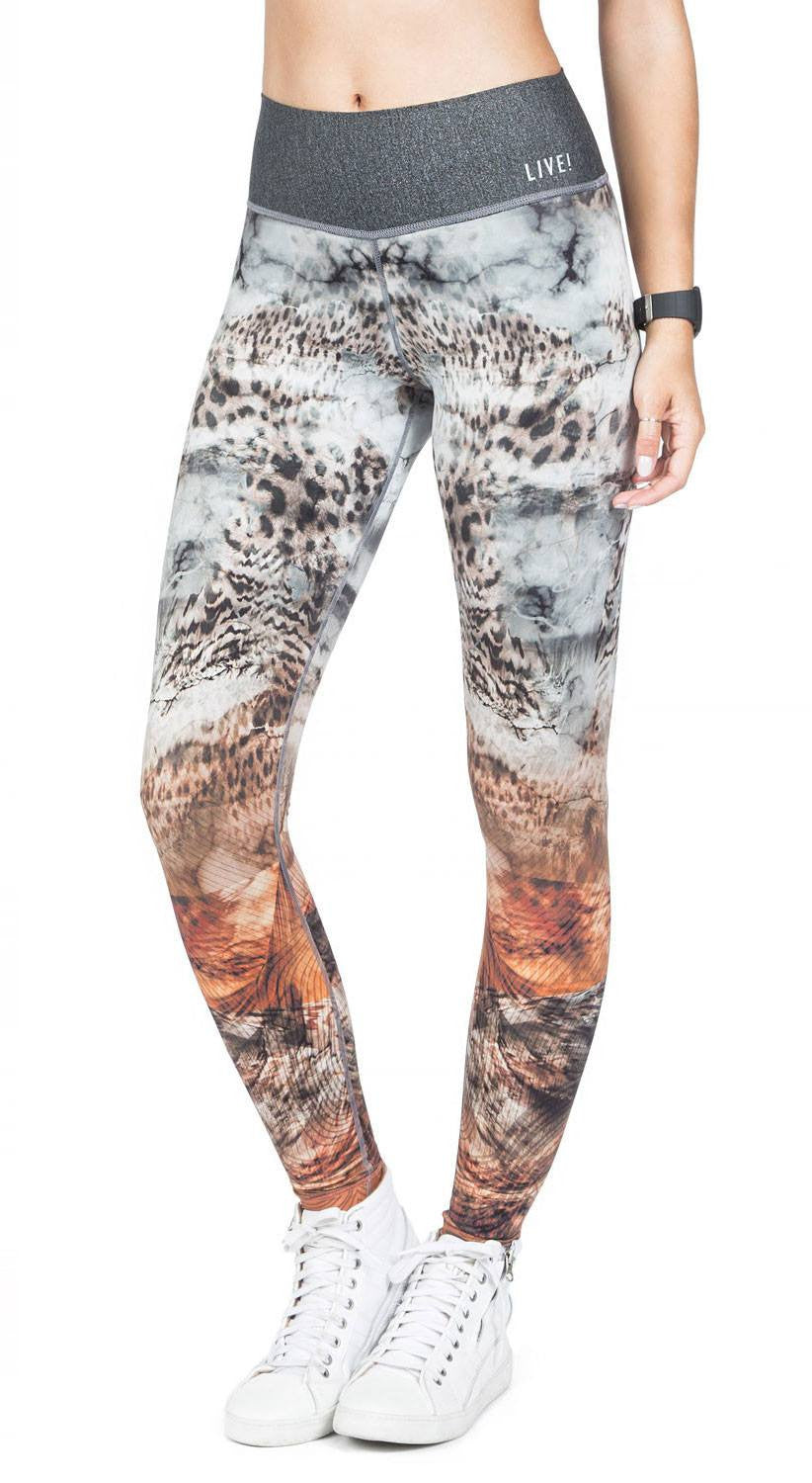 Brazilian Jegging - Reversible Asian Tiger Tight