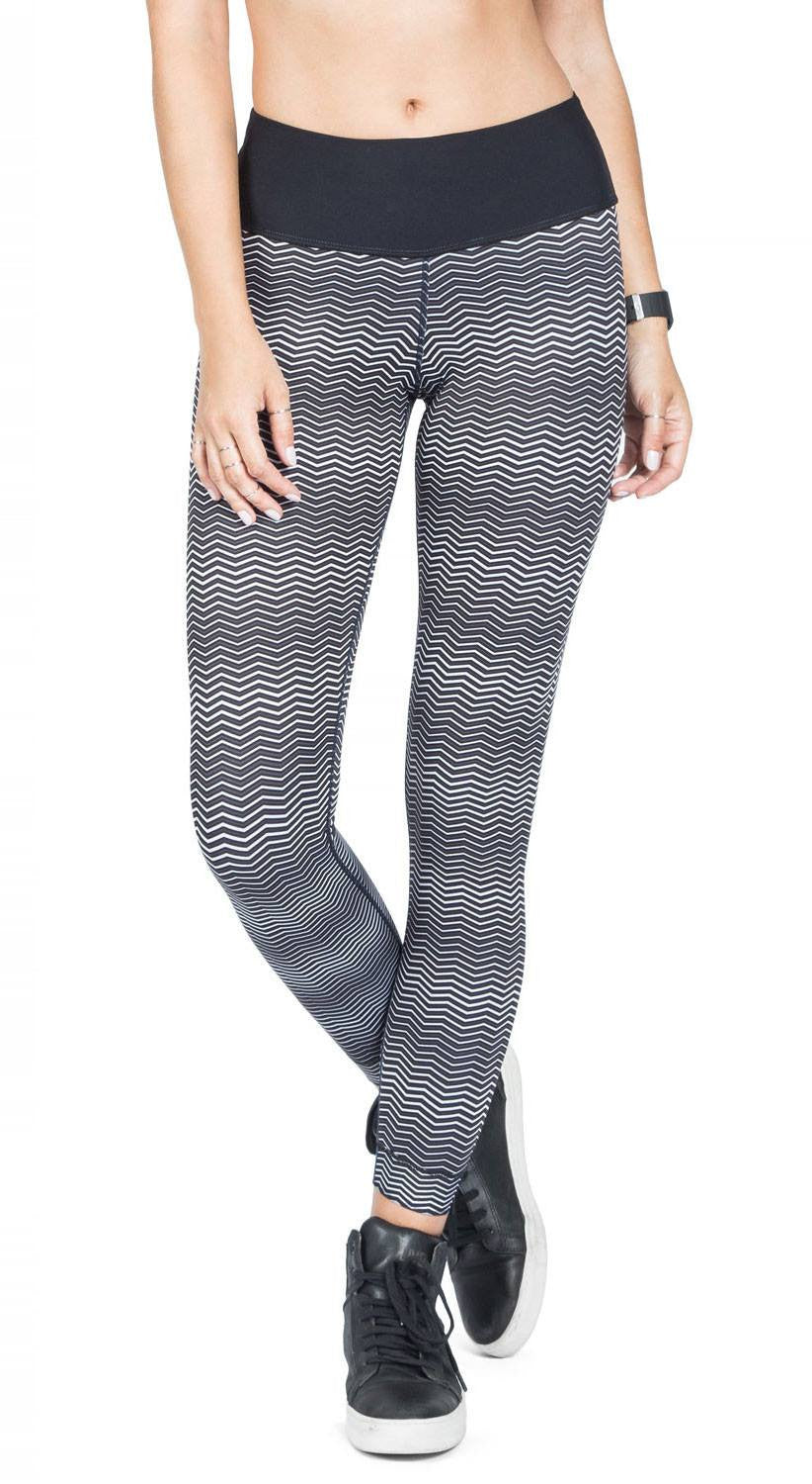 Brazilian Jegging - Reversible Washed City Denim Legging