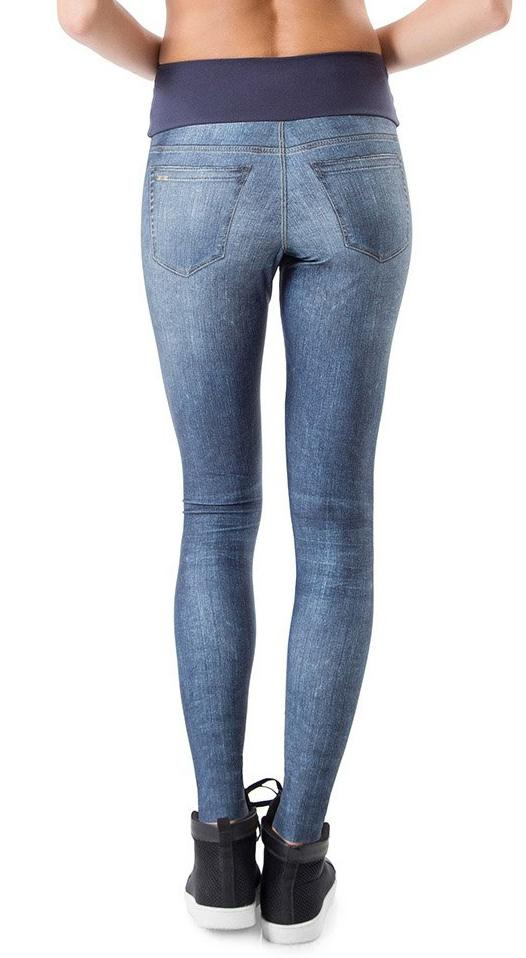Fake Jean Legging - Stream Out Denim Tight
