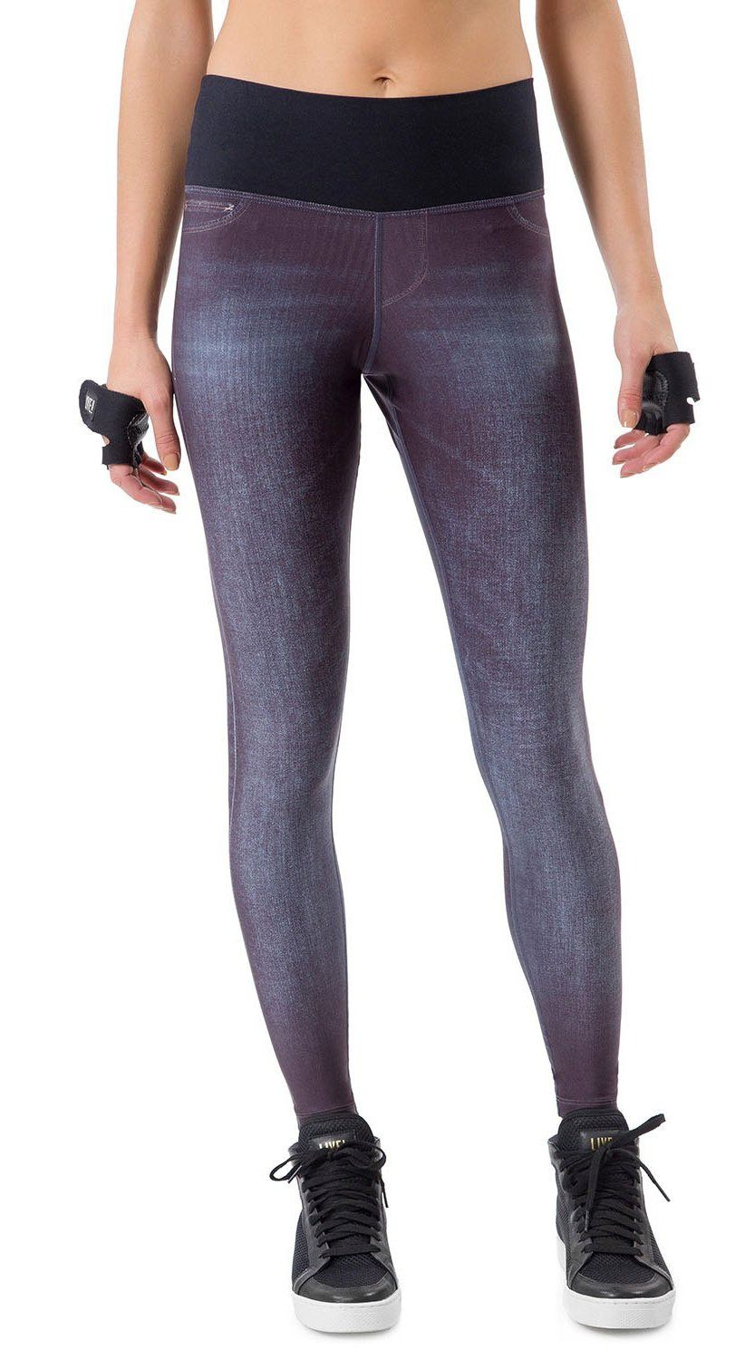 Rush Reversible Denim Legging