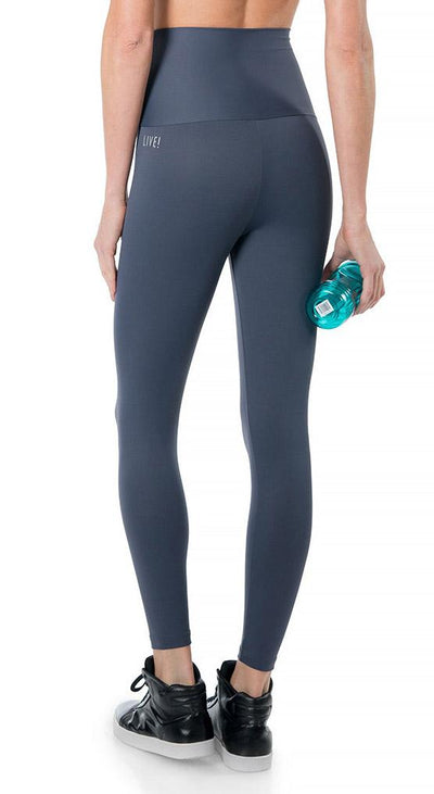 Brazilian Legging High Waist - Emana Basic Gym Tight Gray