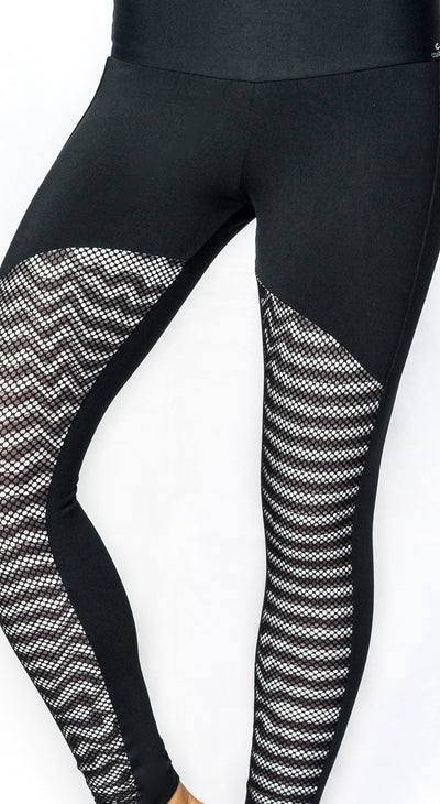 Brazilian Legging - Ilusion Black