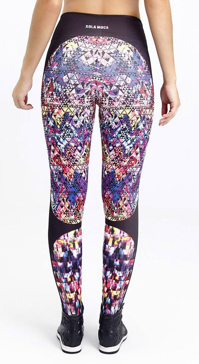 Fitness Legging - Miami Print