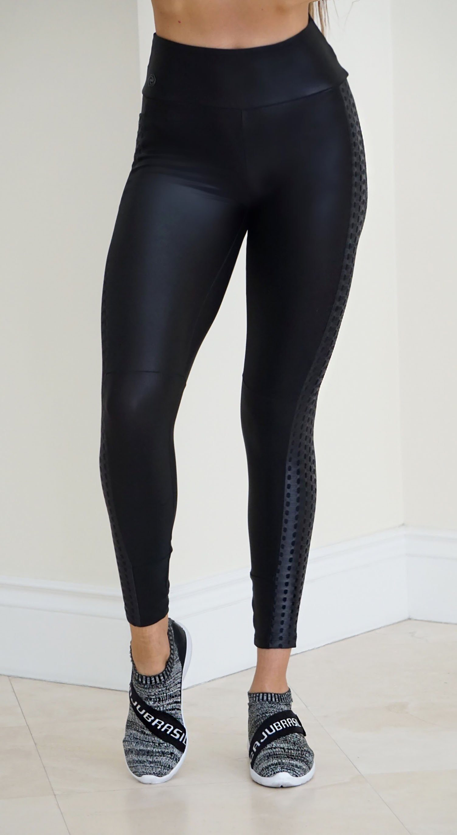 Yoga Pants- Glam Black Sire