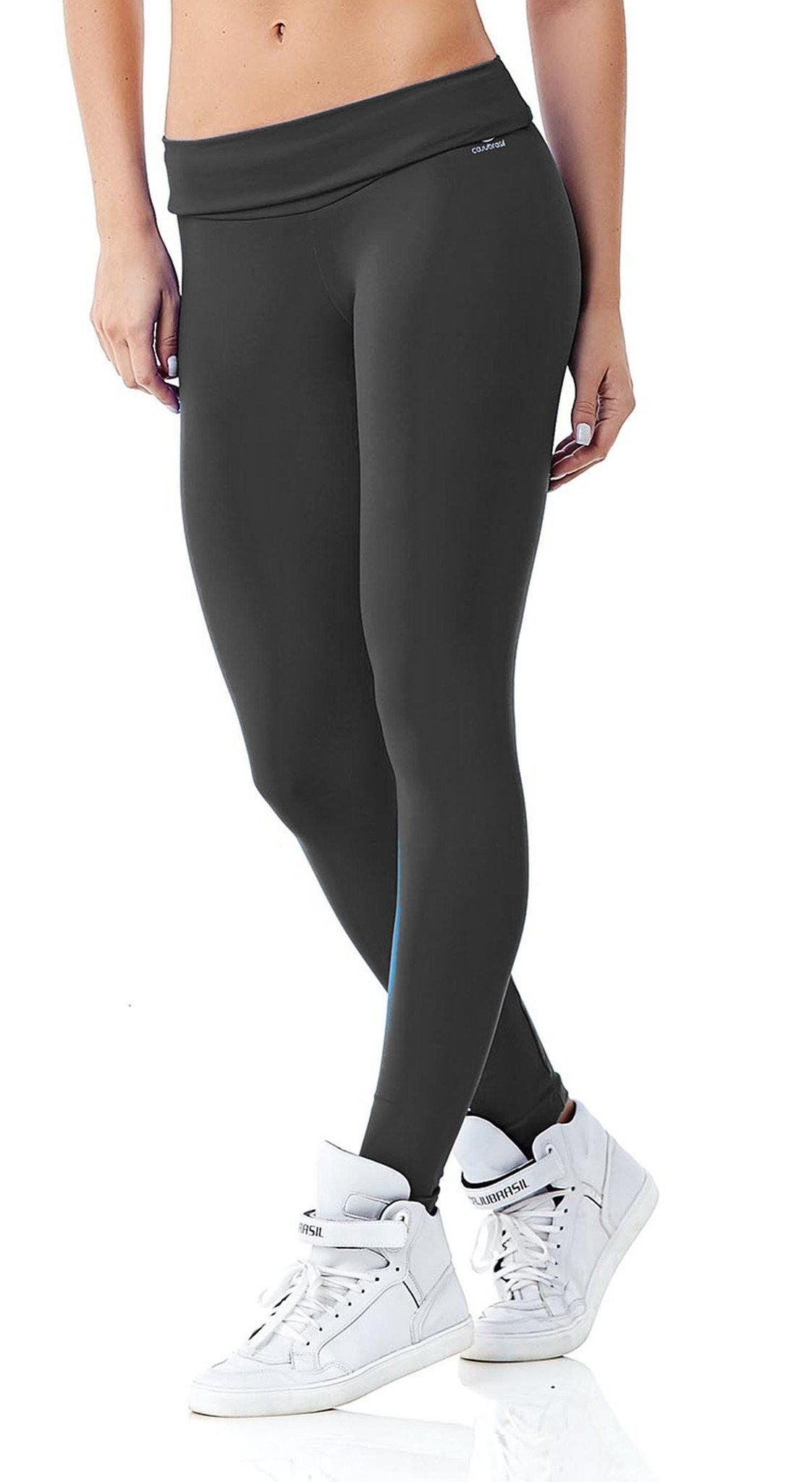 Workout Legging - Basic High Waist Dark Gray