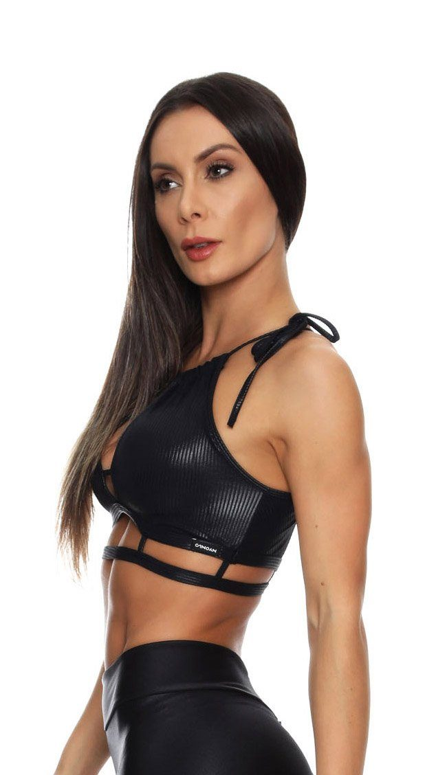 Brazilian Sports Bra - Cire Black