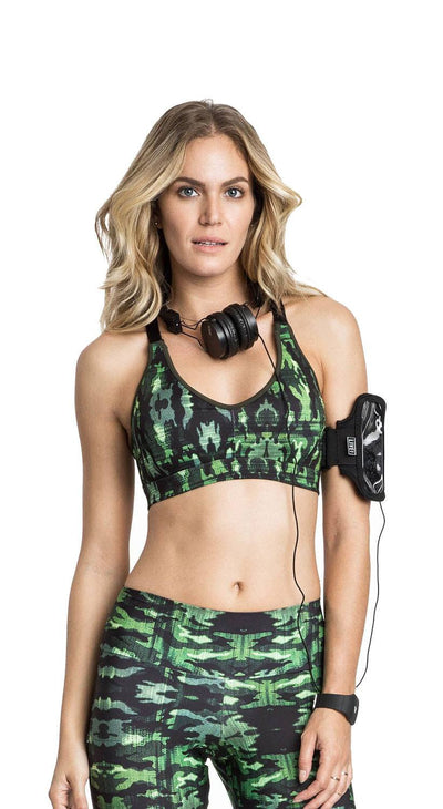 Sports Bra- Power Up Camo Top