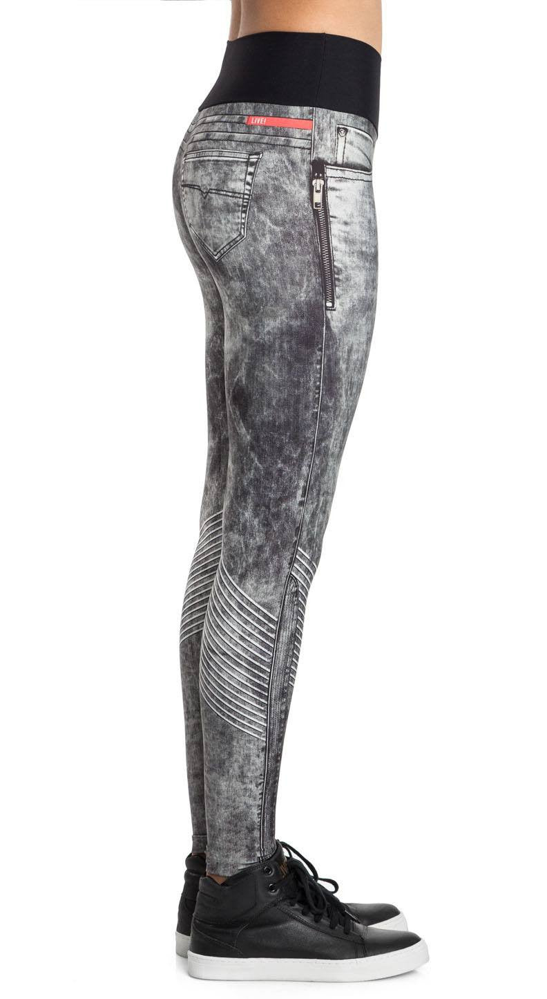 Brazilian Jean Legging - Power Stone Jeans Leggings
