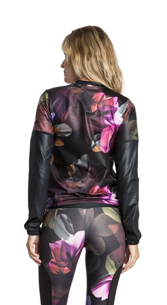 Gym Jacket - Black Orchid Premium