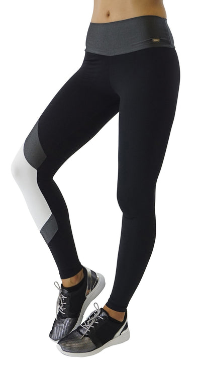 Brazilian Legging - Rock New Black & White