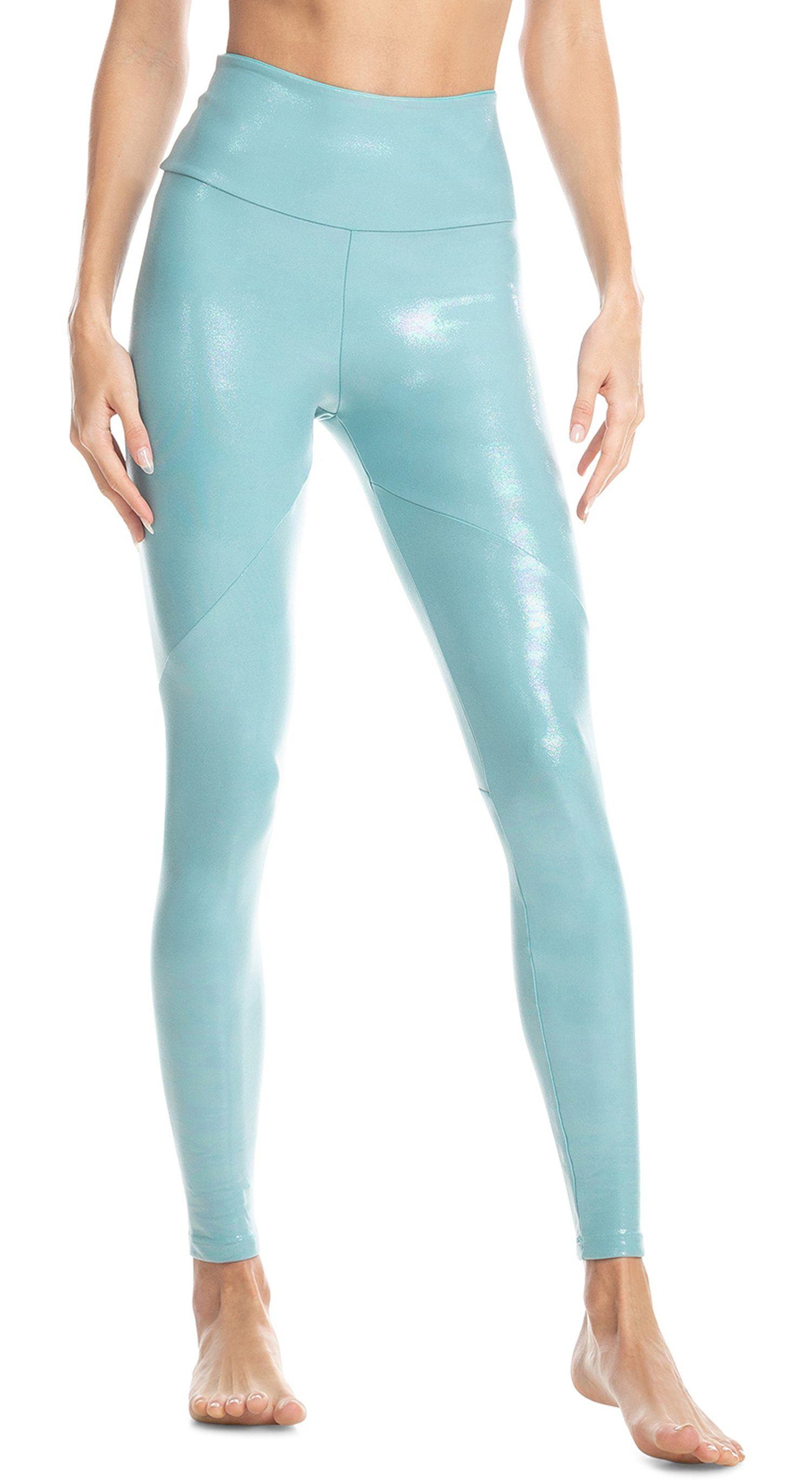Regeneration Tight Green Foil Legging