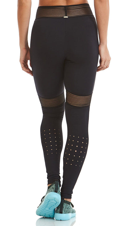 Brazilian Legging - NZ Infinite Compression Black