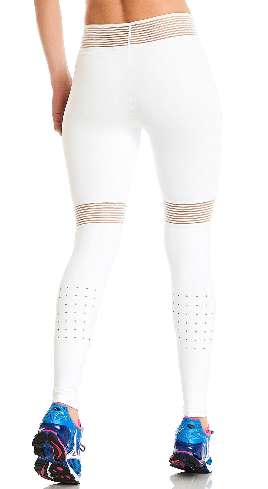 Brazilian Legging - NZ Infinite Compression White
