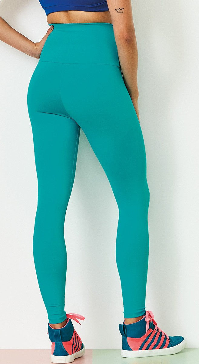 Workout Legging - Basic High Waist Green