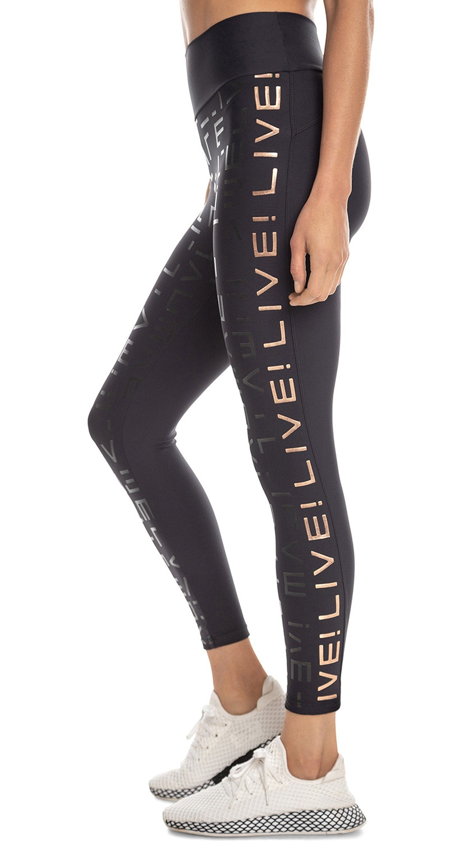 Brazilian Legging - Lux Live! Icon Leggings Black