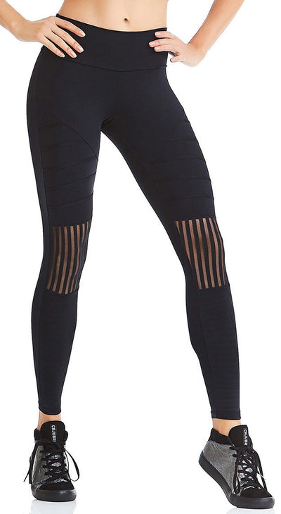 Brazilian Workout Legging - NZ Move Black