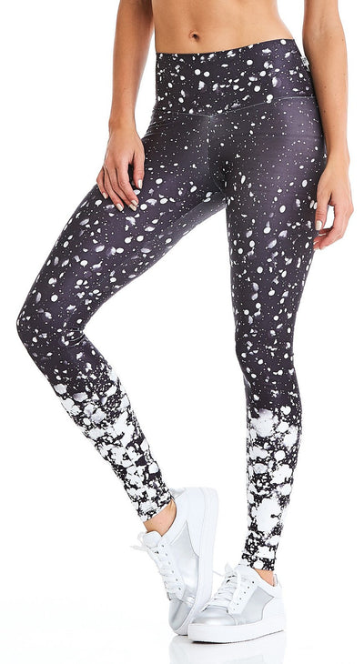 Brazilian Active Legging - Snow Print Legging