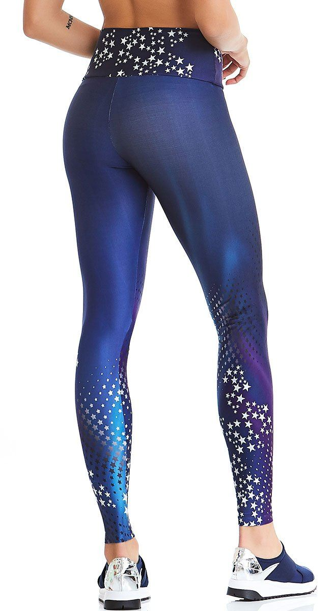 Active Legging - Deluxe Constellation Print
