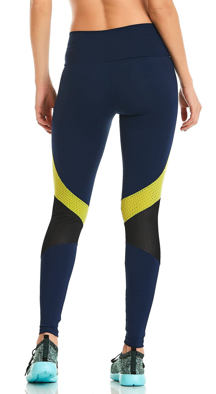 Brazilian Legging - Rock Empower Navy
