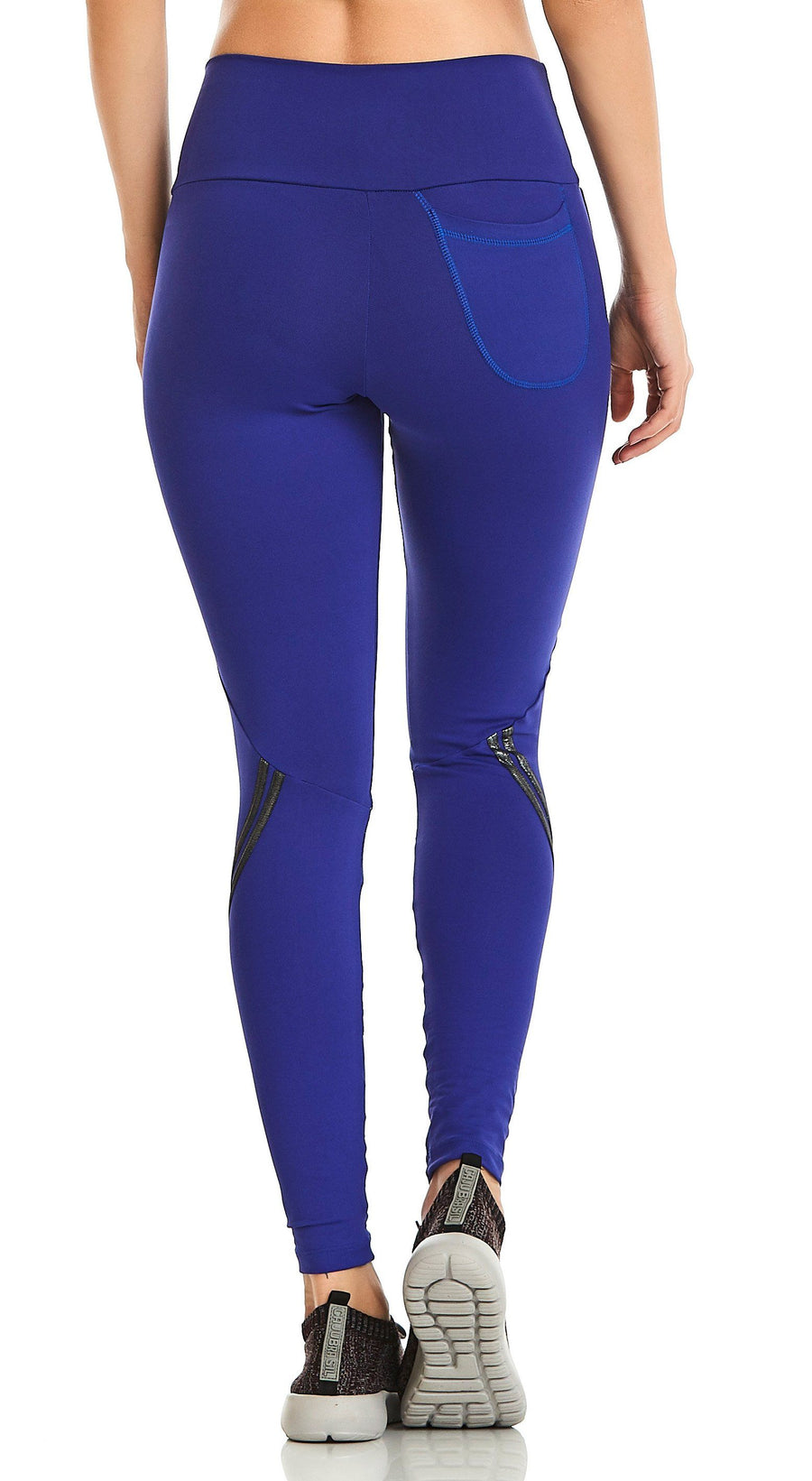 Brazilian Legging -  Seamaid Compression Blue