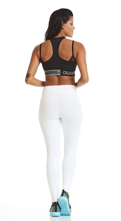 Brazilian Legging - NZ Nature White