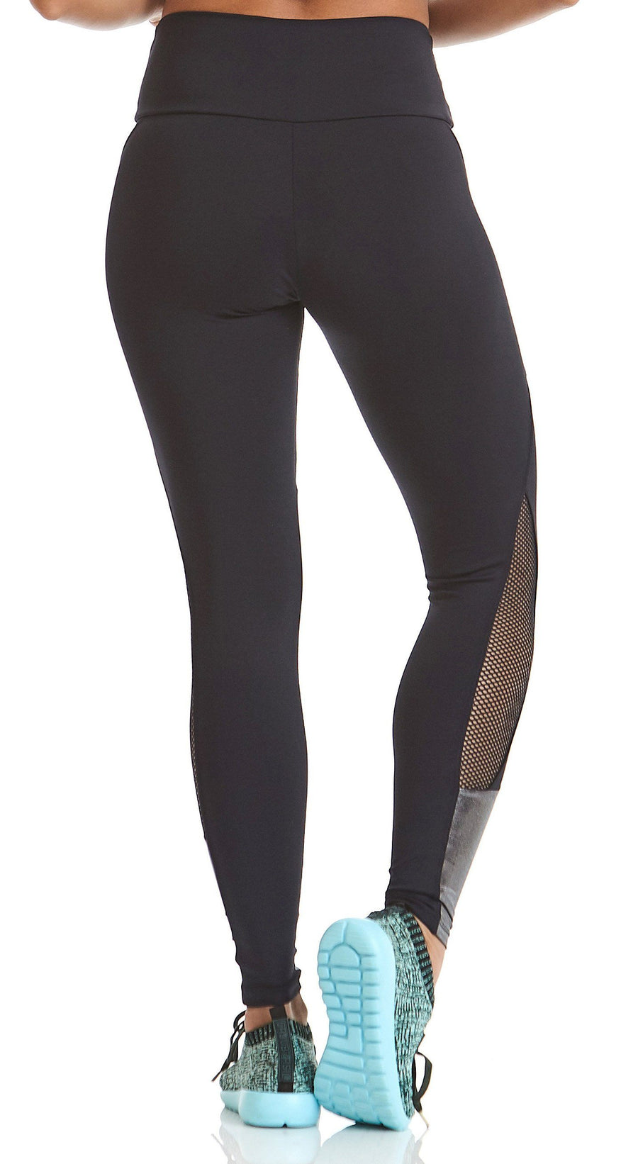 Brazilian Legging -  Mermaid  Compression Black